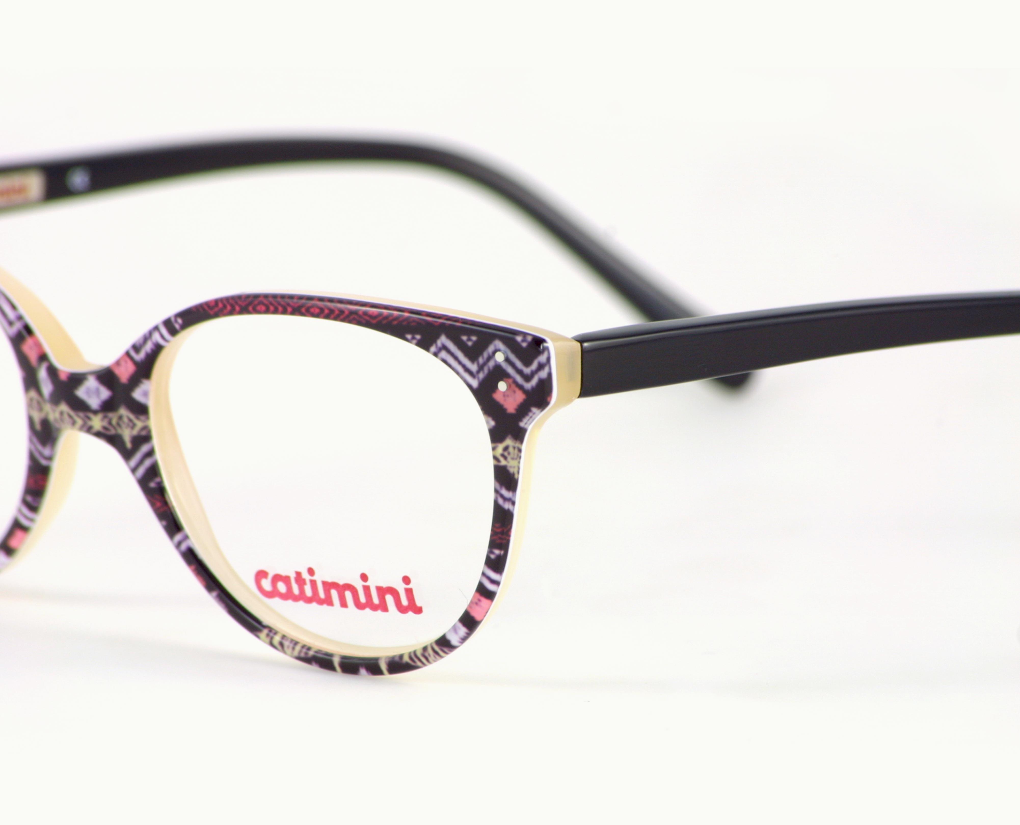 Bild: Brille von Catimini gemustert