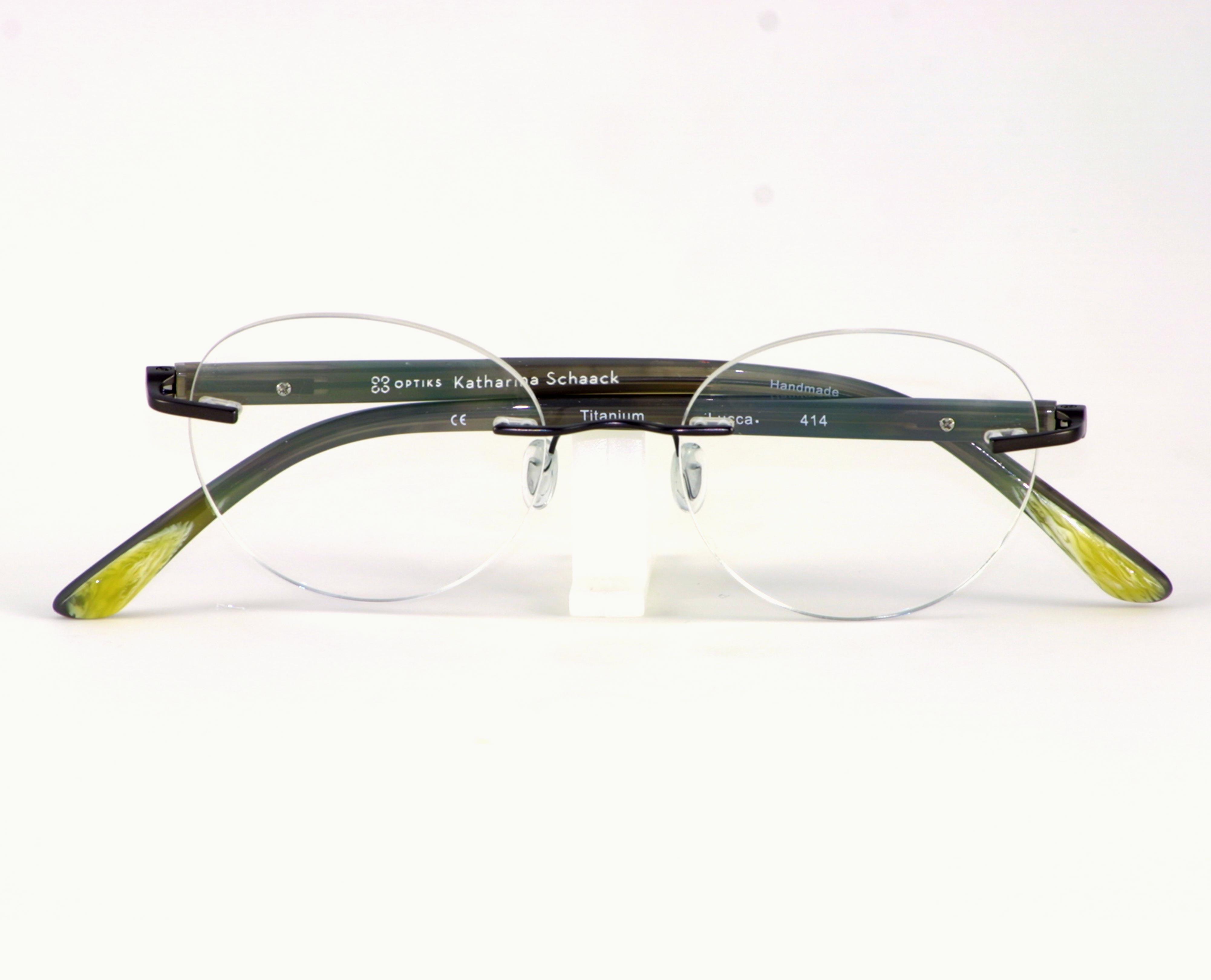 Bild: randlose Brille von K. Schaack