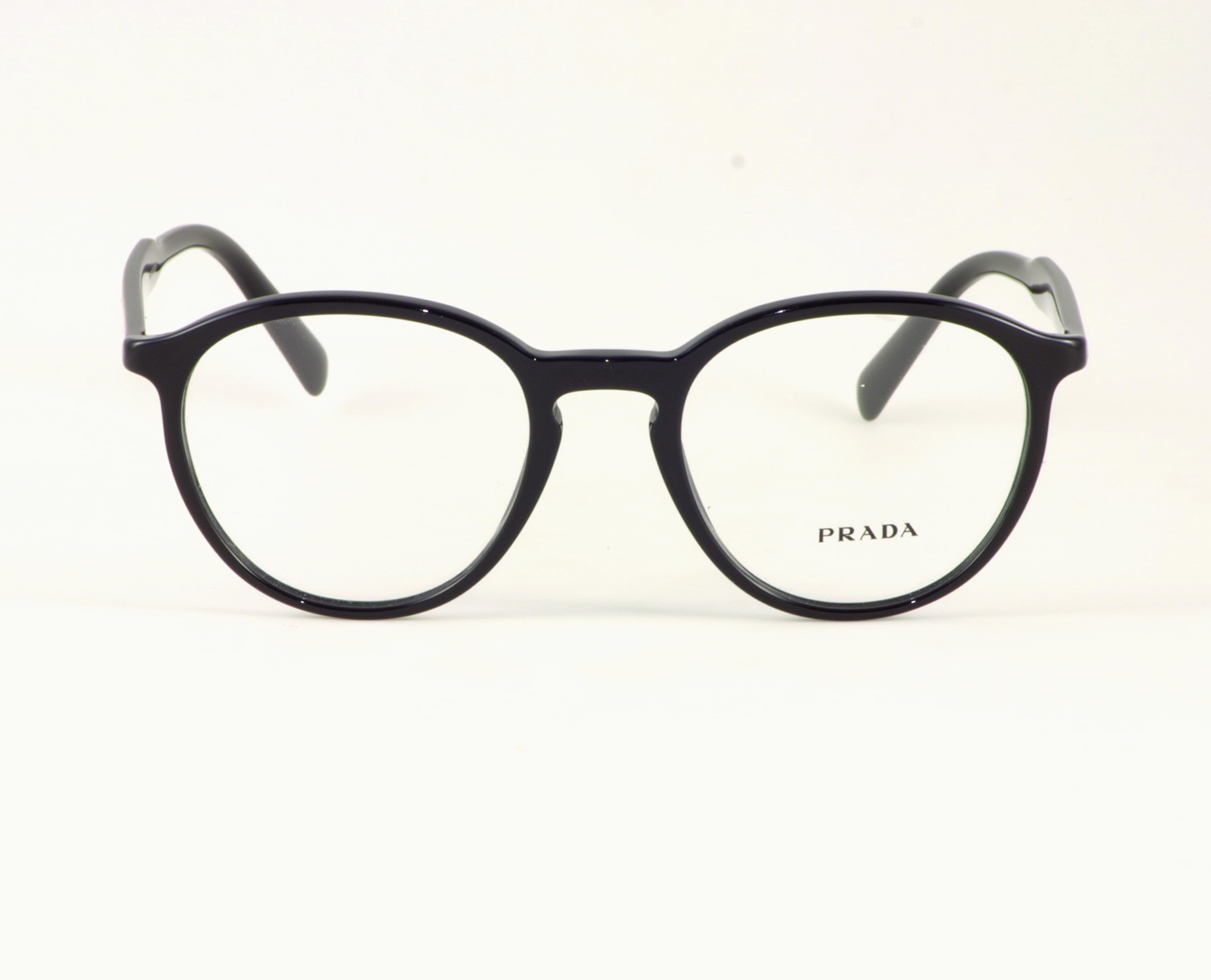 Bild: schwarze Brille von Prada